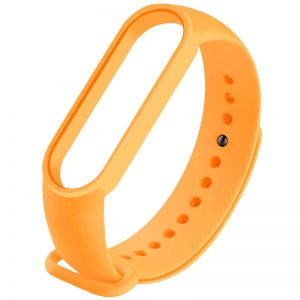 Ремешок для фитнес-браслета Xiaomi Mi Band 3 / 4 – Оранжевый / Bright Orange