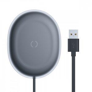 Беспроводное зарядное устройство Baseus Jelly 15W – Black