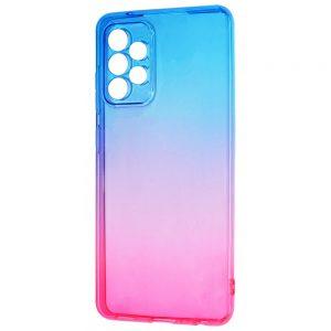 Чехол TPU Gradient Design для Samsung Galaxy A72 – Blue / pink