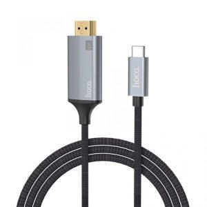 Кабель Hoco UA13 Type-C to HDMI (1.8м) – Black