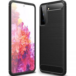 Cиликоновый TPU чехол Slim Series для Samsung Galaxy S21 Plus – Черный