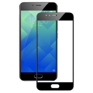 Защитное стекло 2.5D (3D) Full Cover на весь экран для Xiaomi Mi 5 – Black