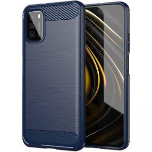 Cиликоновый TPU чехол Slim Series для Xiaomi Poco M3 – Синий