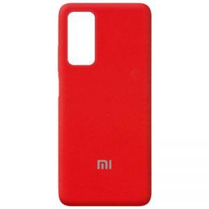 Оригинальный чехол Silicone Cover 360 с микрофиброй для Xiaomi Mi 10T / Mi 10T Pro – Красный / Red