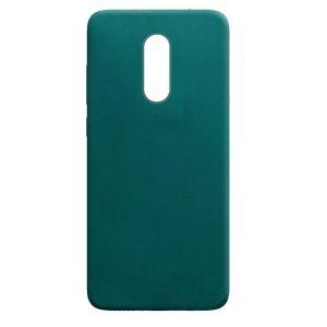 Матовый силиконовый TPU чехол для Xiaomi Redmi Note 4x / Note 4 (Snapdragon) – Зеленый / Forest green