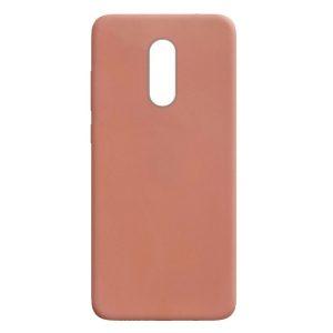 Матовый силиконовый TPU чехол для Xiaomi Redmi Note 4x / Note 4 (Snapdragon) – Rose Gold