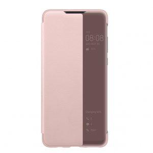 Умный чехол-книжка Smart View Cover для Xiaomi Poco F3 – Розовый