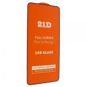 Защитное стекло 21D Full Glue Cover Glass на весь экран для Tecno Spark 5 Pro — Black