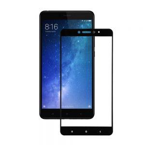Защитное стекло 3D (5D) Full Glue Armor Glass на весь экран для Xiaomi Mi Max 2 – Black