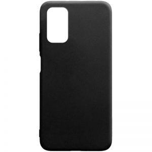 Матовый силиконовый TPU чехол для Xiaomi Redmi 9T – Черный