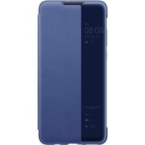 Умный чехол-книжка Smart View Cover для Xiaomi Poco F3 / Mi 11i / Redmi K40 / K40 Pro – Синий