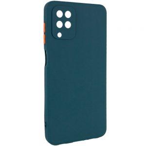 Чехол TPU Square Full Camera для Samsung Galaxy A12 / M12 – Зеленый