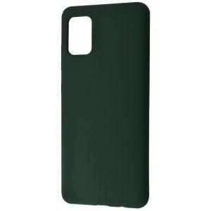 Чехол Silicone Case WAVE Full с микрофиброй для Samsung Galaxy A02s – Cyprus green
