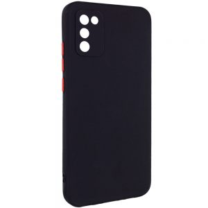 Чехол TPU Square Full Camera для Samsung Galaxy A02s – Черный