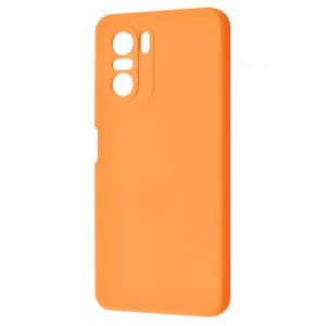 Чехол WAVE Colorful Case с микрофиброй для Xiaomi Poco F3 – Peach