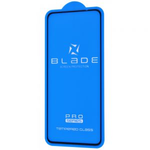 Защитное стекло 3D (5D) Blade Glass Full Glue на весь экран для на весь экран для Xiaomi Redmi Note 10 / 10s – Black