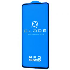 Защитное стекло 3D (5D) Blade Glass Full Glue на весь экран для на весь экран для Samsung Galaxy A32 – Black