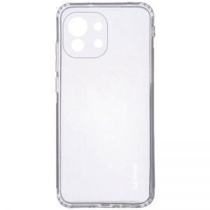 Прозрачный силиконовый TPU чехол GETMAN для Xiaomi Mi 11