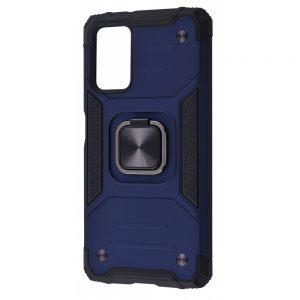 Ударопрочный чехол Hard Defence под магнитный держатель для Xiaomi Redmi 9T – Blue