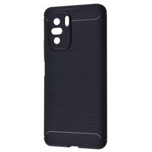 Cиликоновый TPU чехол Slim Series для Xiaomi Poco F3 / Mi 11i / Redmi K40 / K40 Pro – Черный