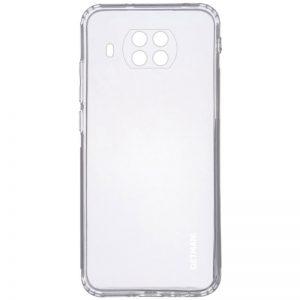 Прозрачный силиконовый TPU чехол GETMAN для Xiaomi Mi 10T Lite