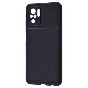Силиконовый чехол Kaisy Series для Xiaomi Redmi Note 10 / Note 10s – Black