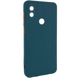 Чехол TPU Square Full Camera для Tecno POP 3 – Зеленый
