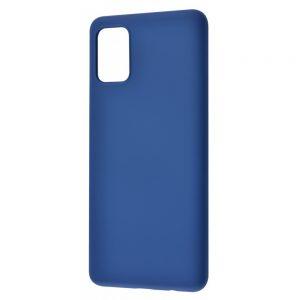 Чехол WAVE Colorful Case с микрофиброй для Samsung Galaxy A02s – Blue