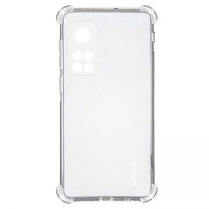 Чехол TPU GETMAN Ease с усиленными углами для Xiaomi Mi 10T / Mi 10T Pro – Clear