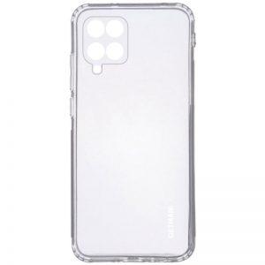 Прозрачный силиконовый TPU чехол GETMAN для Samsung Galaxy A12 / M12