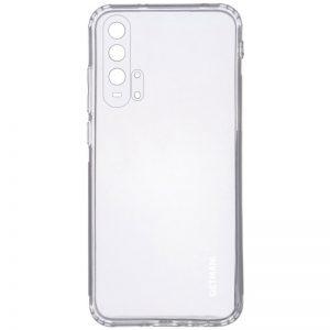 Прозрачный силиконовый TPU чехол GETMAN для Huawei Honor 20 Pro