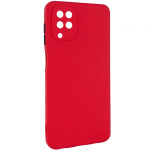 Чехол TPU Square Full Camera для Samsung Galaxy A12 / M12 – Красный