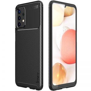 Силиконовый чехол Ipaky Kaisy Series для Samsung Galaxy A72 – Черный