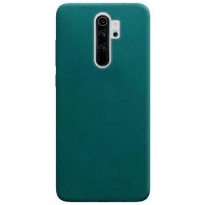 Матовый силиконовый TPU чехол для Xiaomi Redmi Note 8 Pro – Зеленый / Forest green