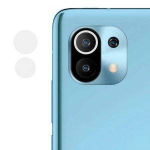 Гибкое защитное стекло 0.18mm на камеру для Xiaomi Mi 11