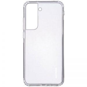 Прозрачный силиконовый TPU чехол GETMAN для Samsung Galaxy S21 Plus