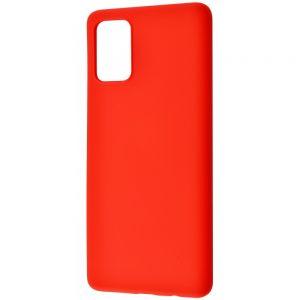 Чехол WAVE Colorful Case с микрофиброй для Samsung Galaxy A02s – Red