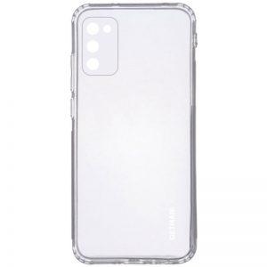 Прозрачный силиконовый TPU чехол GETMAN для Samsung Galaxy A02s