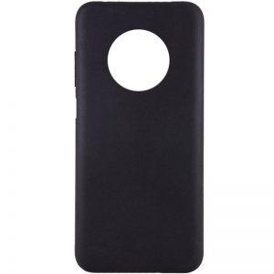 Матовый силиконовый TPU чехол для Xiaomi Redmi Note 9T – Черный