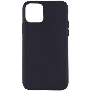 Матовый силиконовый TPU чехол для Iphone 12 Mini – Черный