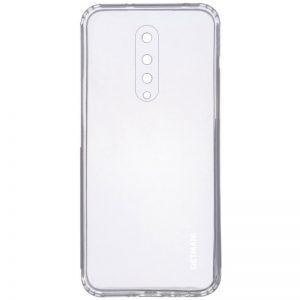 Прозрачный силиконовый TPU чехол GETMAN для OnePlus 8