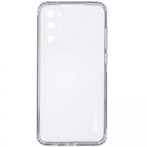 Прозрачный силиконовый TPU чехол GETMAN для Samsung Galaxy S20 FE