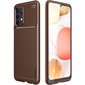 Силиконовый чехол Ipaky Kaisy Series для Samsung Galaxy A72 – Коричневый