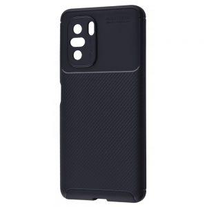 Силиконовый чехол Kaisy Series для Xiaomi Poco F3 / Mi 11i / Redmi K40 / K40 Pro – Black