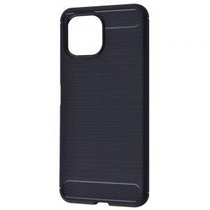Cиликоновый TPU чехол Slim Series для Xiaomi Mi 11 Lite – Черный