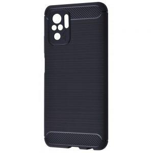 Cиликоновый TPU чехол Slim Series для Xiaomi Redmi Note 10 / Note 10s – Черный