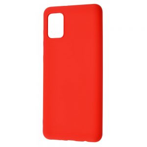 Чехол WAVE Colorful Case с микрофиброй для Samsung Galaxy A31 – Red
