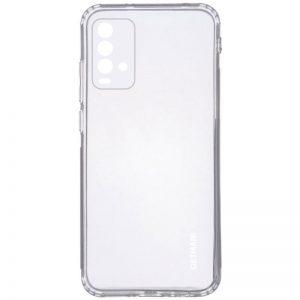 Прозрачный силиконовый TPU чехол GETMAN для Xiaomi Redmi 9T