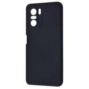 Чехол WAVE Colorful Case с микрофиброй для Xiaomi Poco F3 – Black