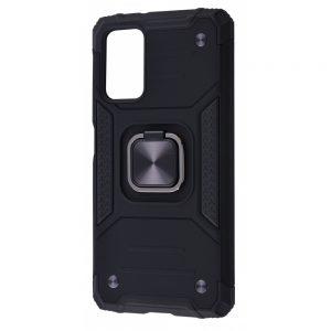 Ударопрочный чехол Hard Defence под магнитный держатель для Samsung Galaxy A31 – Black